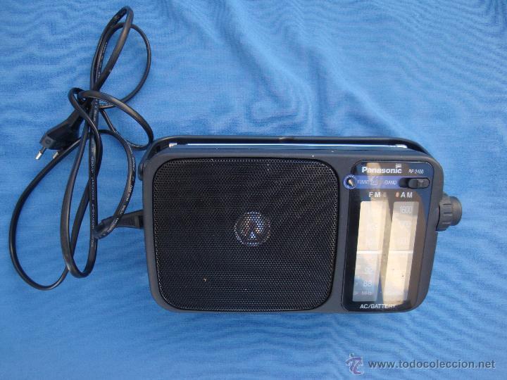 RADIO TRANSISTOR PANASONIC MODELO REF. 2400- FUNCIONANDO- (Radios, Gramófonos, Grabadoras y Otros - Transistores, Pick-ups y Otros)