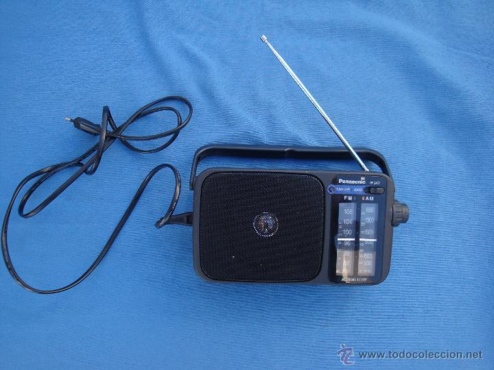 Radios antiguas: RADIO TRANSISTOR PANASONIC MODELO REF. 2400- FUNCIONANDO- - Foto 2 - 46924478