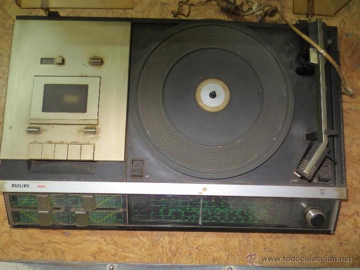 RADIO TOCADISCOS RADIOCASSETTE. 953 PHILIPS (Radios, Gramófonos, Grabadoras y Otros - Transistores, Pick-ups y Otros)