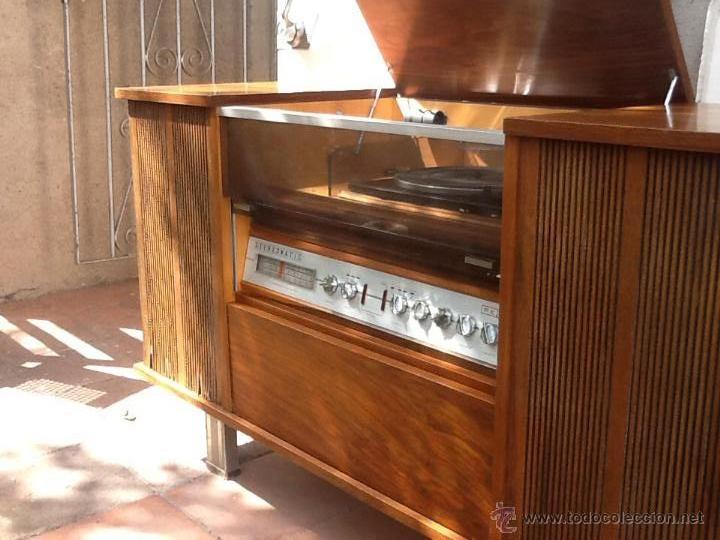 Liquidacion mueble radio y tocadiscos roselson comprar radios transistores y pick ups en - Mueble para tocadiscos ikea ...
