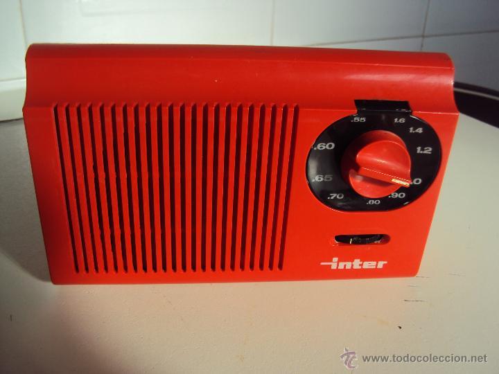 INTER (Radios, Gramófonos, Grabadoras y Otros - Transistores, Pick-ups y Otros)