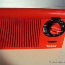 Radios antiguas: INTER. Lote 47265322