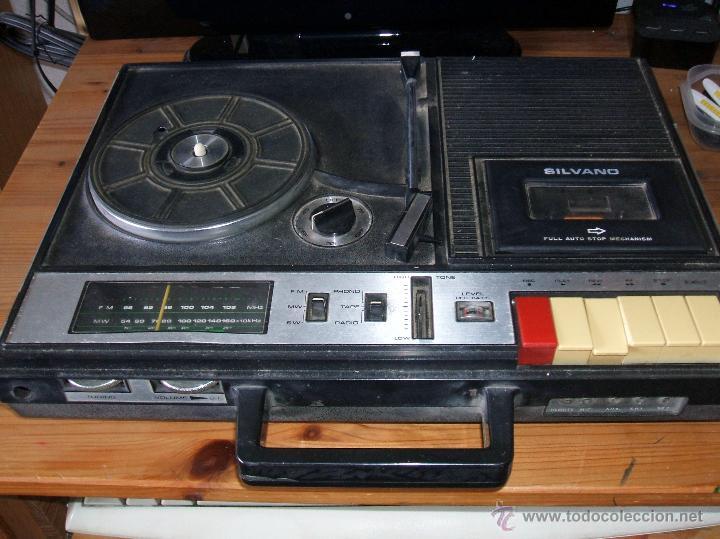 EQUIPO COMPACTO.MARCA SILVANO (RADIO,CASSETTE Y TOCADISCOS) - FKPC-717 (Radios, Gramófonos, Grabadoras y Otros - Transistores, Pick-ups y Otros)
