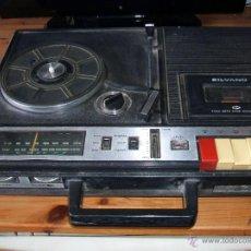 Radios antiguas: EQUIPO COMPACTO.MARCA SILVANO (RADIO,CASSETTE Y TOCADISCOS) - FKPC-717 NO FUNCIONA. A REPARAR.. Lote 235651180