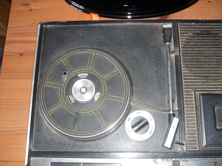 Radios antiguas: Equipo Compacto.Marca Silvano (Radio,Cassette y Tocadiscos) - FKPC-717 - Foto 3 - 47320456