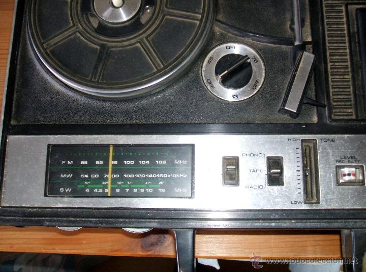 Radios antiguas: Equipo Compacto.Marca Silvano (Radio,Cassette y Tocadiscos) - FKPC-717 - Foto 4 - 47320456