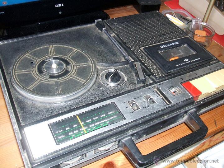 Radios antiguas: Equipo Compacto.Marca Silvano (Radio,Cassette y Tocadiscos) - FKPC-717 - Foto 5 - 47320456