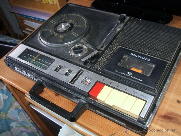 Radios antiguas: Equipo Compacto.Marca Silvano (Radio,Cassette y Tocadiscos) - FKPC-717 - Foto 6 - 47320456