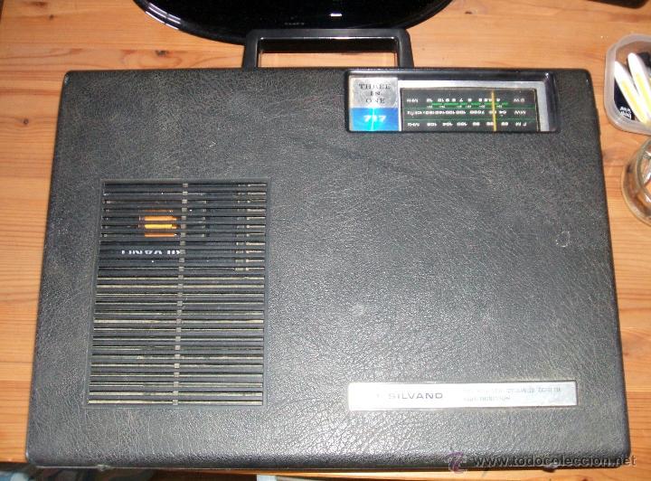 Radios antiguas: Equipo Compacto.Marca Silvano (Radio,Cassette y Tocadiscos) - FKPC-717 - Foto 13 - 47320456