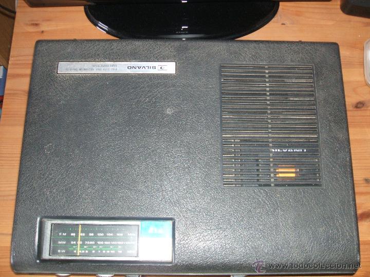 Radios antiguas: Equipo Compacto.Marca Silvano (Radio,Cassette y Tocadiscos) - FKPC-717 - Foto 14 - 47320456