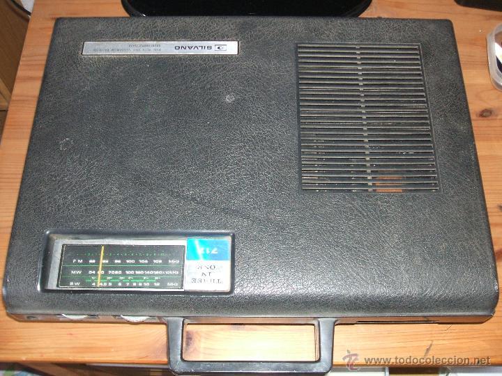 Radios antiguas: Equipo Compacto.Marca Silvano (Radio,Cassette y Tocadiscos) - FKPC-717 - Foto 15 - 47320456