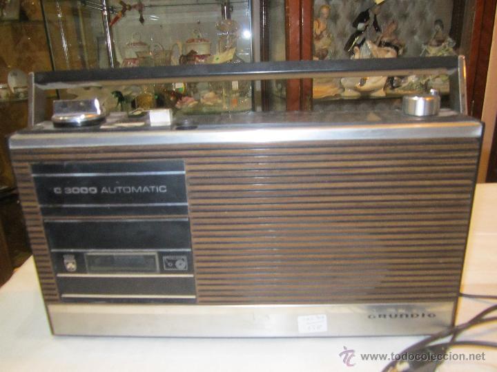 OCASION RADIO CASSETTE GRUNDIG C 3000 AUTOMATIC. - TALLER NO VA (Radios, Gramófonos, Grabadoras y Otros - Transistores, Pick-ups y Otros)