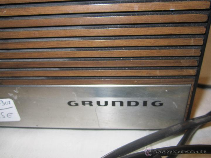 Radios antiguas: OCASION radio Cassette Grundig C 3000 Automatic. - taller no va - Foto 2 - 47393457