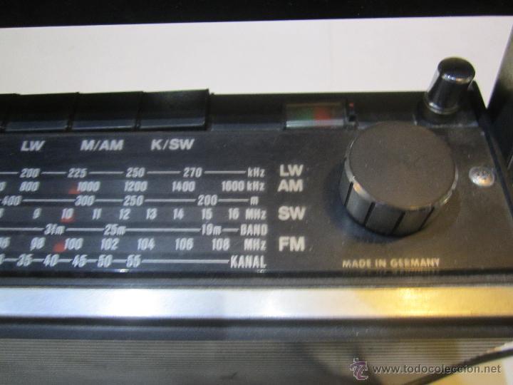 Radios antiguas: OCASION radio Cassette Grundig C 3000 Automatic. - taller no va - Foto 4 - 47393457
