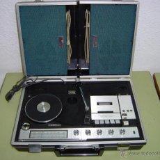 Radios antiguas: COMPACTO MUSICAL CROWN TOCADISCOS RADIO Y CASETE. Lote 47394186