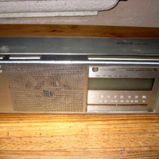 Radios antiguas: RADIO SONY ICF-C33W FM/AM DIGITAL CLOCK VINTAGE.. Lote 47440717