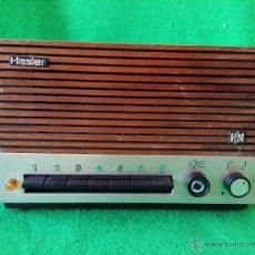 Radios antiguas: RECEPTOR DE HILO MUSICAL HASLER FUNCIONA. Lote 47613341