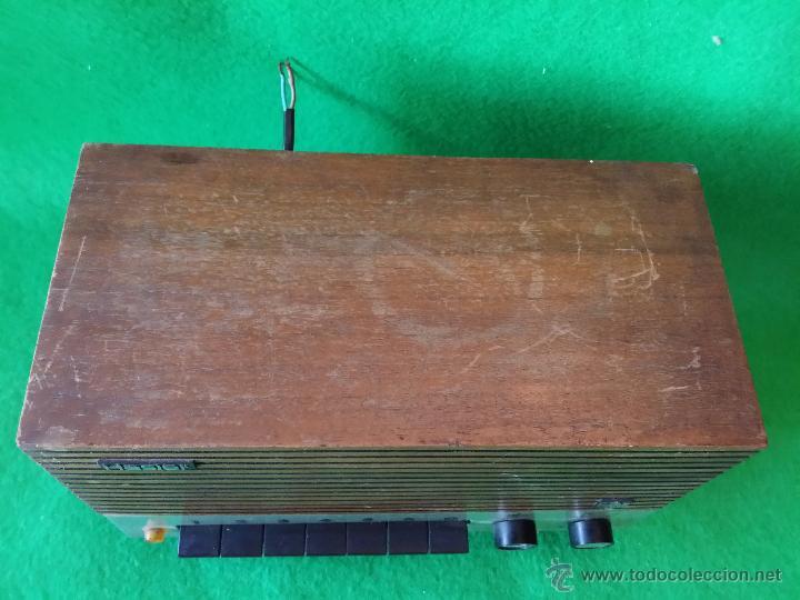 Radios antiguas: RECEPTOR DE HILO MUSICAL HASLER FUNCIONA - Foto 2 - 47613341