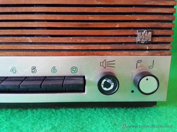 Radios antiguas: RECEPTOR DE HILO MUSICAL HASLER FUNCIONA - Foto 7 - 47613341