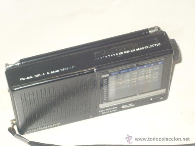 Radios antiguas: RADIO TRANSISTOR INTERNACIONAL.FUNCIONANDO. - Foto 3 - 47771411