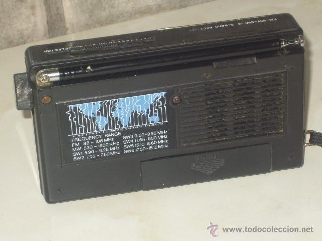 Radios antiguas: RADIO TRANSISTOR INTERNACIONAL.FUNCIONANDO. - Foto 5 - 47771411
