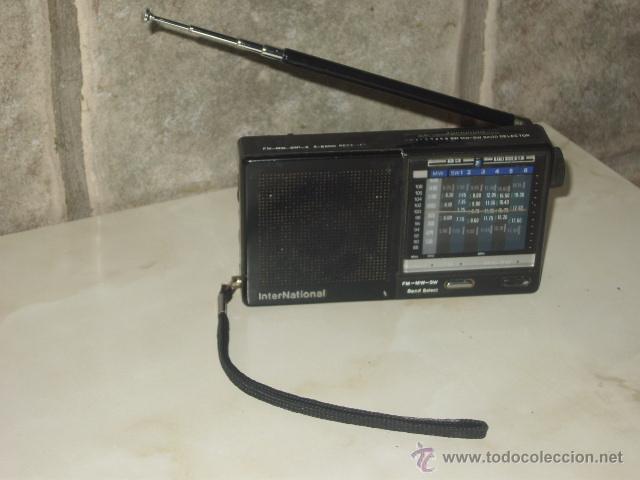 Radios antiguas: RADIO TRANSISTOR INTERNACIONAL.FUNCIONANDO. - Foto 6 - 47771411