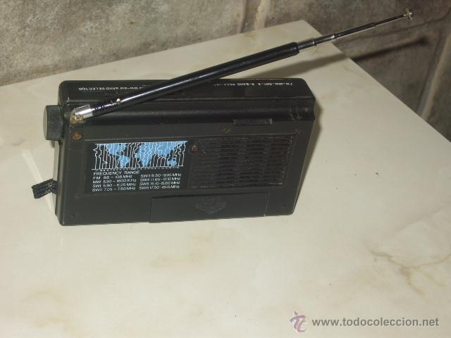 Radios antiguas: RADIO TRANSISTOR INTERNACIONAL.FUNCIONANDO. - Foto 8 - 47771411