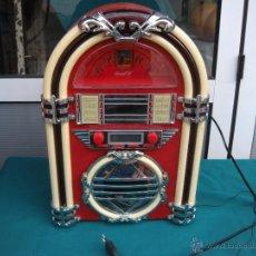 Radios antiguas: RADIO CAPILLA COCA-COLA COCACOLA CON LUCES. RETRO. Lote 47839225