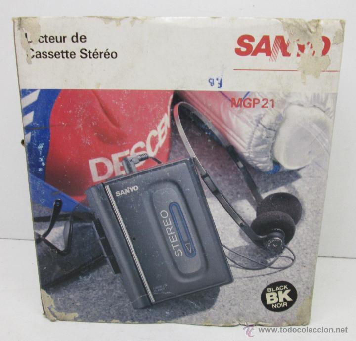 Radios antiguas: SANYO MGP21 WALKMAN ,CASSETTE PORTATIL años 80 - Foto 2 - 48204769