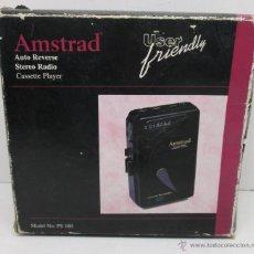 Radios antiguas: AMSTRAD PS 180 WALKMAN ,CASSETTE PORTATIL AÑOS 80. Lote 48224096