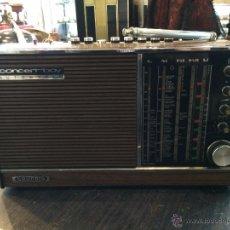Radios antiguas: RADIO TRANSISTOR GRUNDIG MODELO CONCERT BOY AUTOMATIC 209 AÑO 1969. Lote 48230958