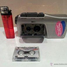 Radios antiguas: MINI GRABADORA MARCA SANYO INCLUYE MINI CINTA BUEN ESTADO VER FOTOS. Lote 54744354