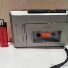 Radios antiguas: GRABADORA MARCA SANYO BUEN ESTADO NO INCLUYE CINTA VER FOTOS. Lote 48262588