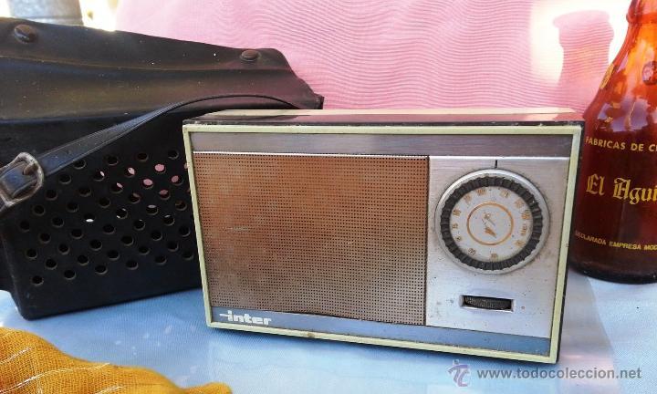 VIEJA RADIO, TRANSISTOR MARCA INTER (Radios, Gramófonos, Grabadoras y Otros - Transistores, Pick-ups y Otros)