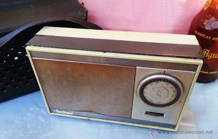 Radios antiguas: VIEJA RADIO, TRANSISTOR MARCA INTER - Foto 3 - 48305104