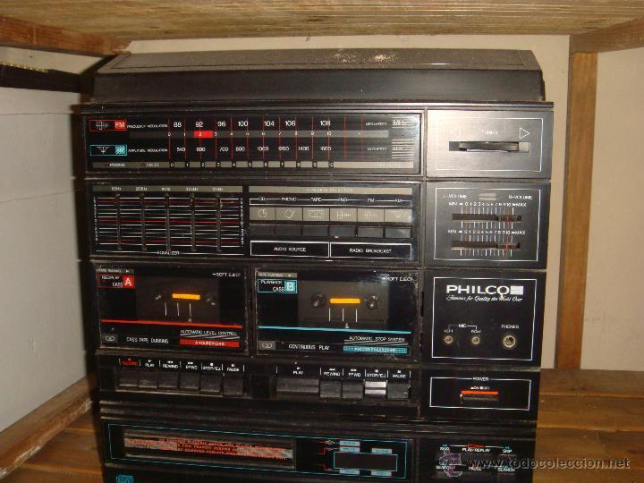 CENTRO MUSICAL PHILCO (Radios, Gramófonos, Grabadoras y Otros - Transistores, Pick-ups y Otros)