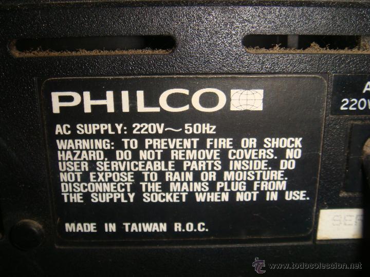 Radios antiguas: CENTRO MUSICAL PHILCO - Foto 3 - 48391919