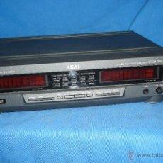 Radios antiguas: PROCESADOR DIGITAL DE SONIDO MARCA AKAI, MDLO. EA-M830. Lote 48407404