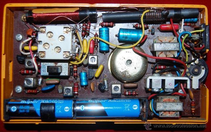 Radios antiguas: TRANSISTOR RADIO VANGUARD POLARIS 96 PT AM-AÑOS 60 - Foto 5 - 48747220