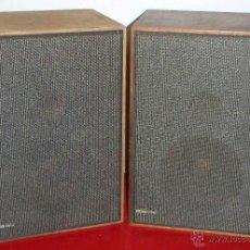 Radios antiguas: DOS ALTAVOCES RANK ARENA. Lote 109062976