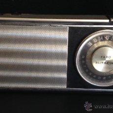 Radios antiguas: MAGNIFICA RADIO TRANSISTOR CON AUTO TUNING HITACHI TH-800 FARO AUTOTUNING. Lote 125272960