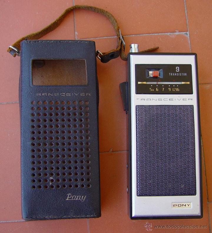 2 RADIO DE TRANSISTORES CON RADIOTELEFONO DE 27 MHZ CB. PONY-KANDA....SANNA (Radios, Gramófonos, Grabadoras y Otros - Transistores, Pick-ups y Otros)