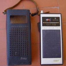 Radios antiguas: 2 RADIO DE TRANSISTORES CON RADIOTELEFONO DE 27 MHZ CB. PONY-KANDA....SANNA. Lote 49085841