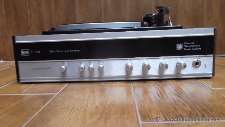 Radios antiguas: Tocadiscos Aleman Dual 1224 Bettor EF-235 1975 - Foto 2 - 49157555