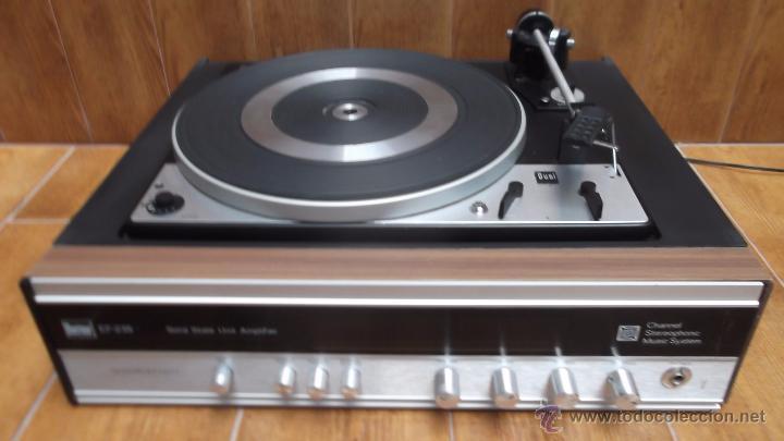 Radios antiguas: Tocadiscos Aleman Dual 1224 Bettor EF-235 1975 - Foto 3 - 49157555