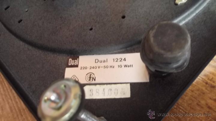 Radios antiguas: Tocadiscos Aleman Dual 1224 Bettor EF-235 1975 - Foto 6 - 49157555