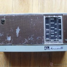 Radios antiguas: RADIO MINISTOR II, PHILIPS, AÑOS 60.70. Lote 49174894