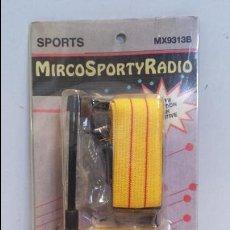 Radios antiguas: MICRO RADIO - SPORTS MX9313B - SIN USO. Lote 49590196