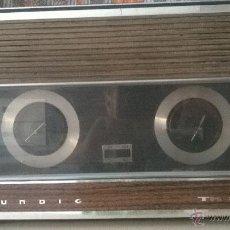Radios antiguas: MAGNETOFON GRABADORA ANTIGUA GRUNDIG TK 2200 FUNCIONA. Lote 49598926