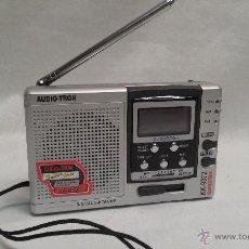 Radios antiguas: RADIO TRANSISTOR MARCA AUDIOTRON MODELO KK-9072 - FUNCIONA. Lote 49760779